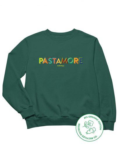 green pasta amore sweatshirt