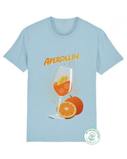 aperol t-shirt in light blue