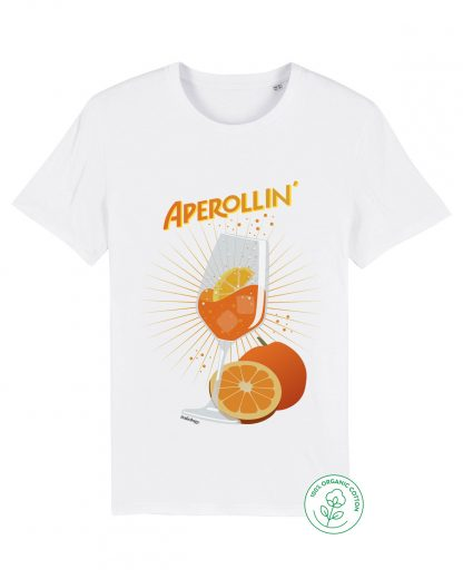 aperol t-shirt in white